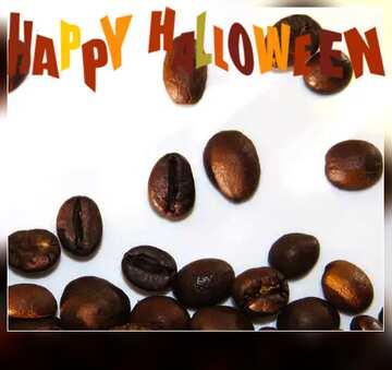 The effect of the dark. Blur dark frame. Fragment. Happy halloween.