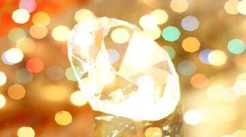 The effect of hard light. Fragment.