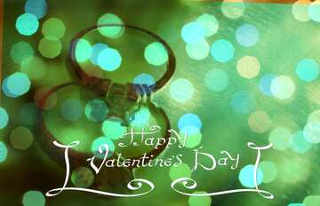 The effect of hard light. The effect of stained blue. Happy Valentine's Day.
