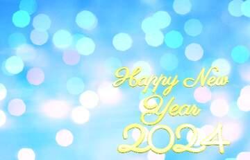 Die Wirkung von viel Licht. Sehr klare Farben. Happy New Year 2020.