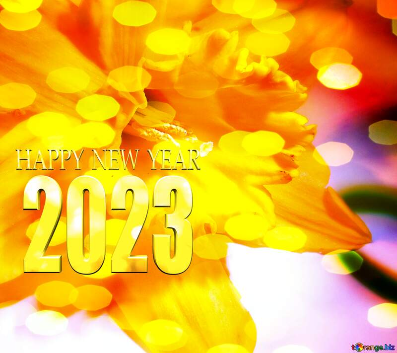 Christmas  flower happy new year 2022 №341