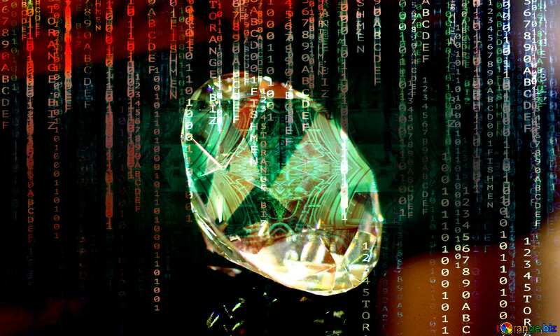 diamond enterprise matrix style background digital №52795