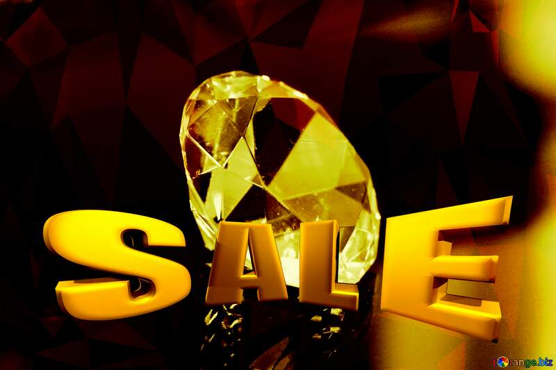 diamond Sales discount promotion banner background №52795