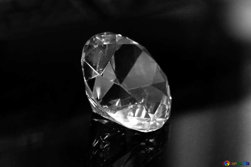 diamond black white №52795