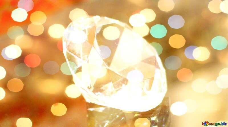 diamond Christmas background №52795
