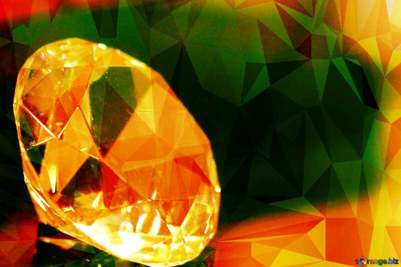 diamond Polygon background №52795