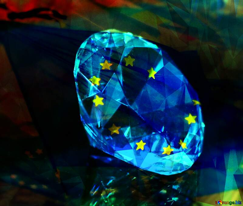diamond euro flag №52795