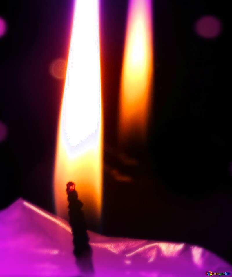 Candle blur frame №17411