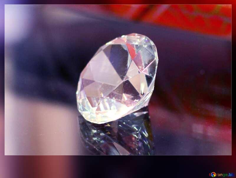 diamond dark frame №52795