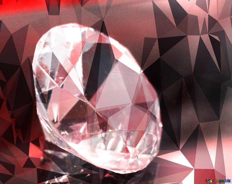 diamond polygonal background №52795