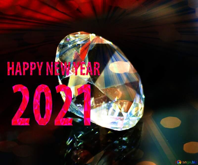 diamond happy new year 2021 №52795