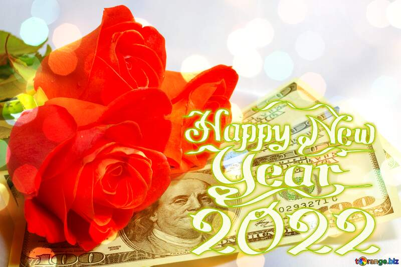 Roses  and  dollars. Christmas 2021 №7269