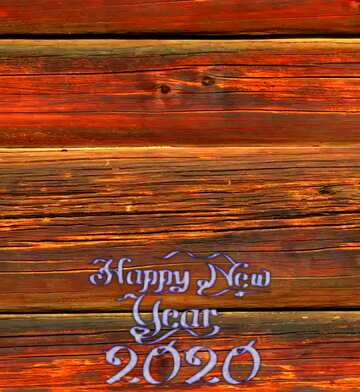 The effect of the dark. Very Vivid Colours. Fragment. Happy New Year 2020.