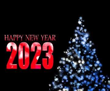El efecto de la muy oscuridad. Fragmento. Happy New Year 2020.