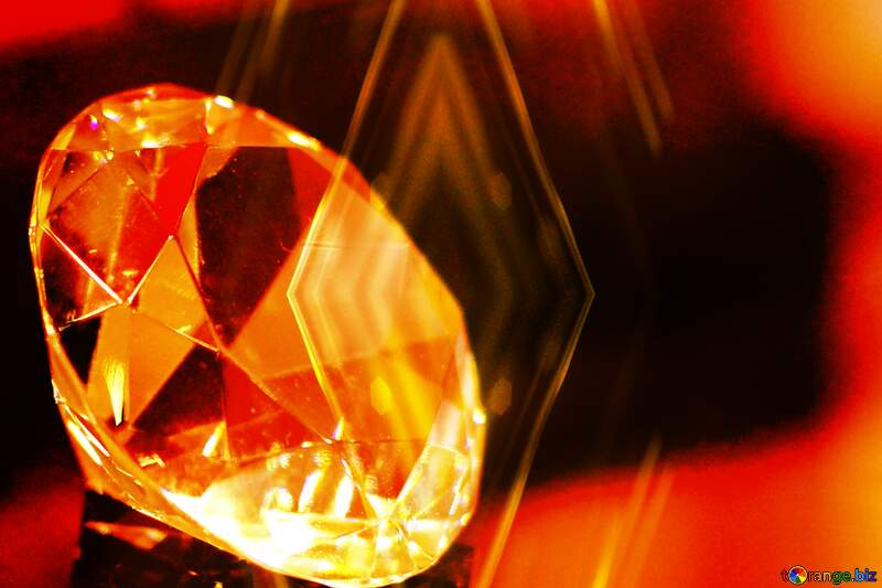 Polygon Diamond Background №52795