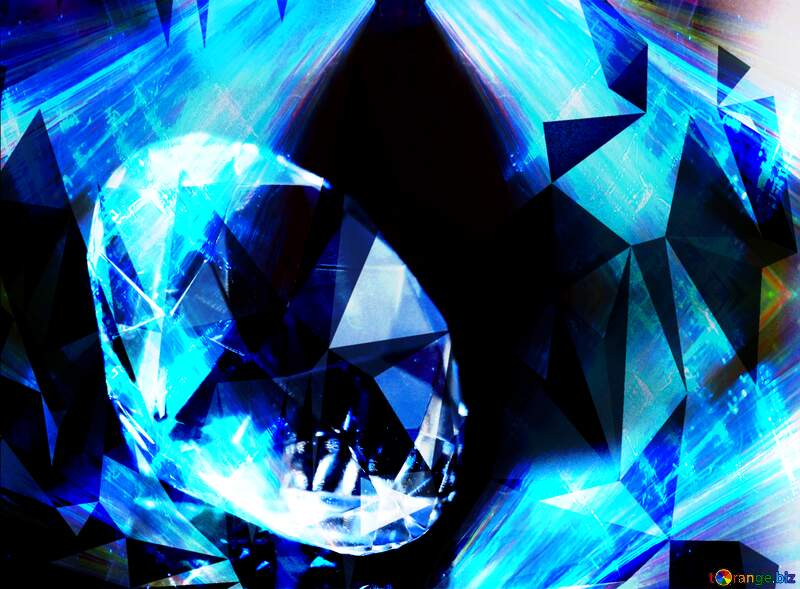 Diamond Style Background №52795