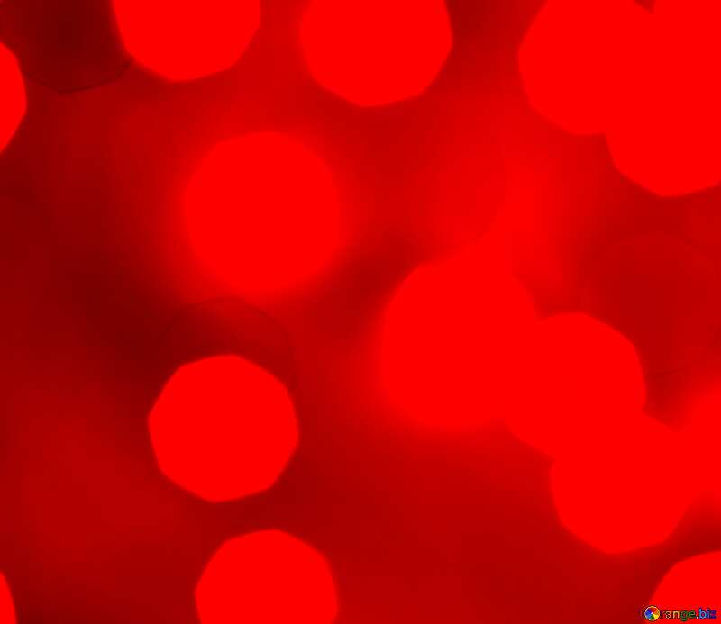 Red Background of bright lights №24618