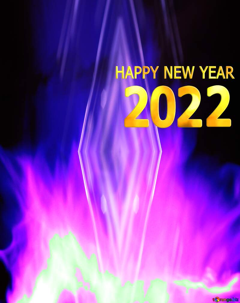 happy new year 2021 art abstract  Background №9546