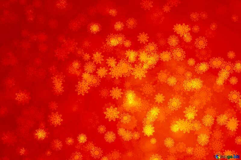 Red  Snowflake background №40700