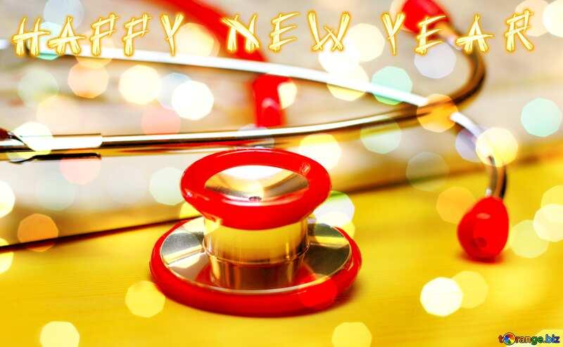 medicine happy new year card №19742