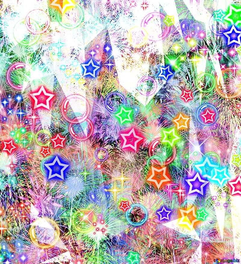 Celebrate   Polygonal background №39955