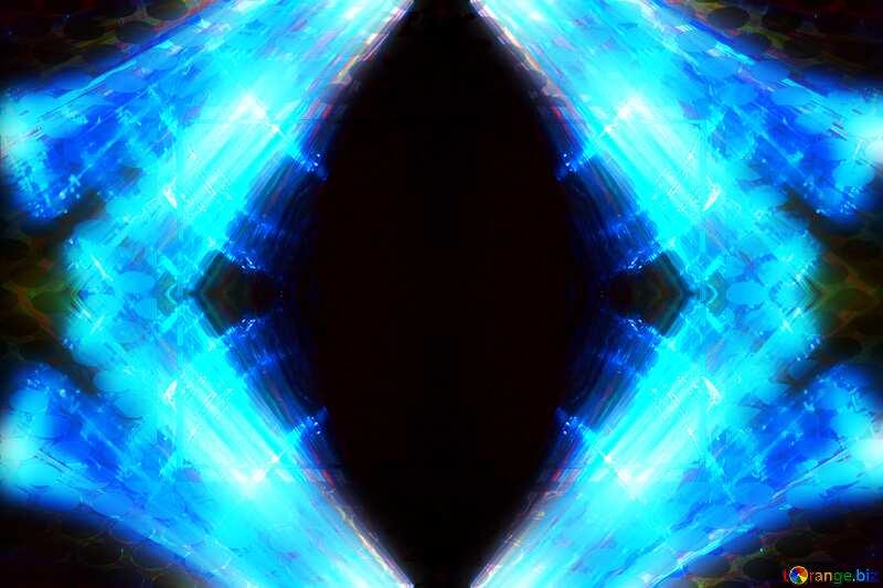 Starry sky geometric frame art deco №44729