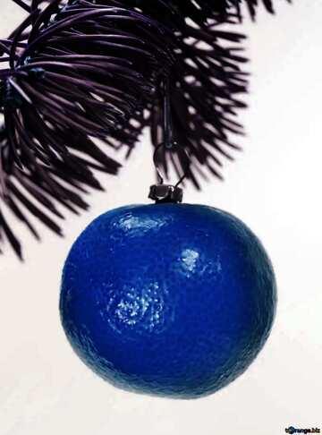 L'effetto del molto buio. L'effetto di macchiato blu.