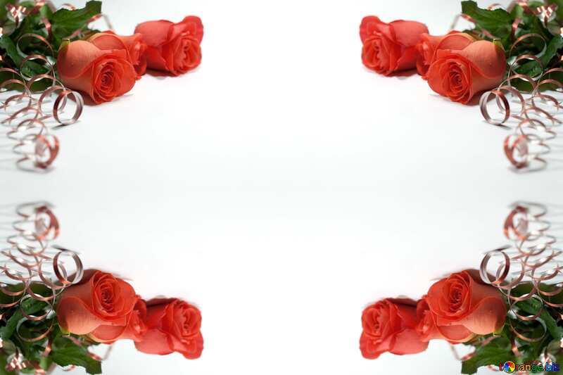 Frame rose №7228