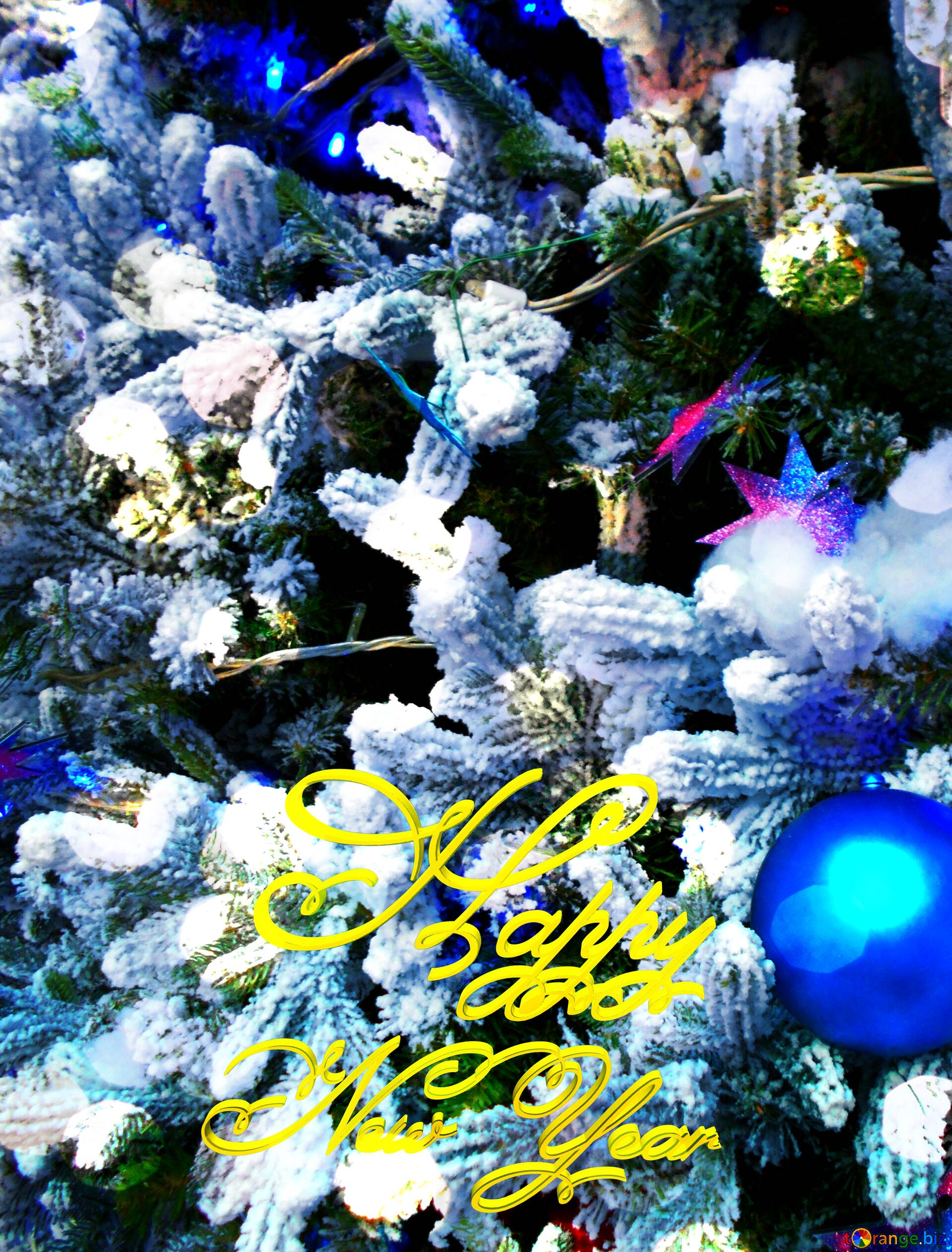 Download Free Picture Christmas Tree Xmas Blue Ornament Happy New Year 3d Card On Cc By License Free Image Stock Torange Biz Fx 210494