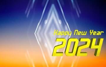 Die Wirkung von viel Licht. lebendige Farben. Bruchstück. Happy New Year 2020.