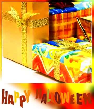 The effect of the dark. Very Vivid Colours. Blur dark frame. Fragment. Happy halloween.