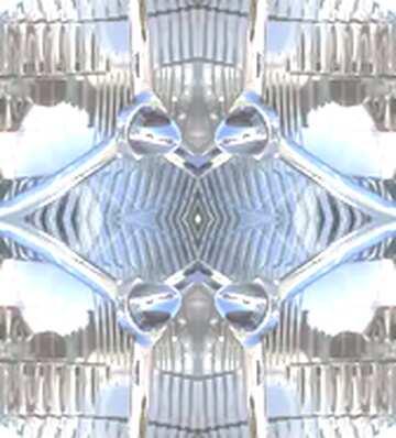 pattern glass metal