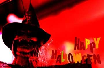 The effect of the hard dark. Fragment. Happy halloween.