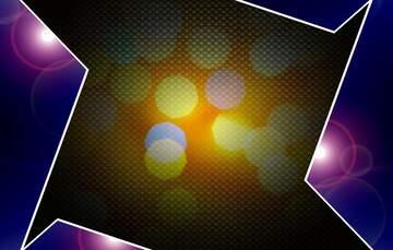 Die Wirkung von Licht. lebendige Farben.
