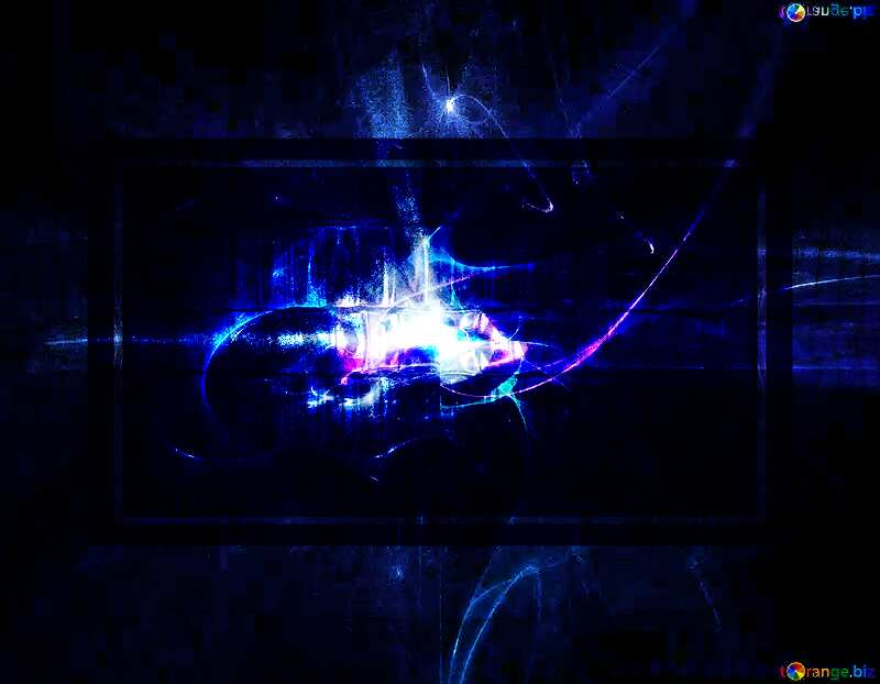 Astral glass metal blue background №40631