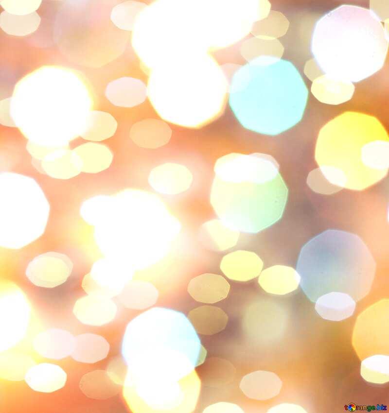 Christmas lights  background №24617