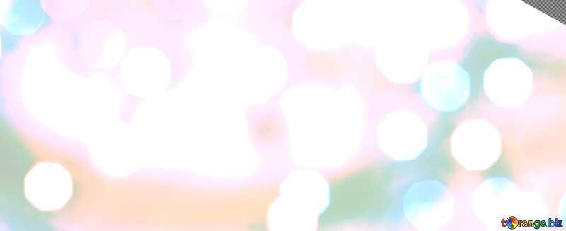 Christmas lights sky background №24617