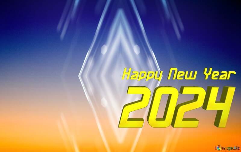 Sunset Gradient happy  new year 2022 pattern background №16062