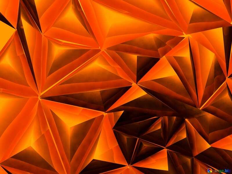 Polygon red background dark №51586