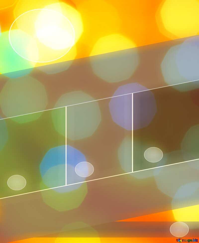 Background of bright lights Business brochure flyer design №24618