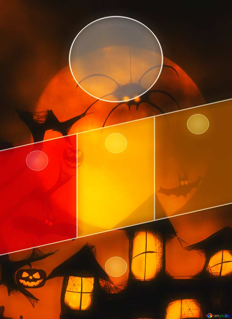 Halloween Hot Business brochure flyer design layout a4 size template №40470
