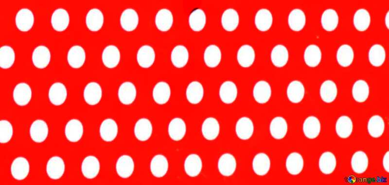white dots on red paint №51726