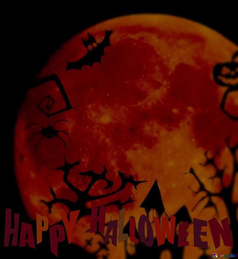 Halloween clipart blur halloween frame №40469