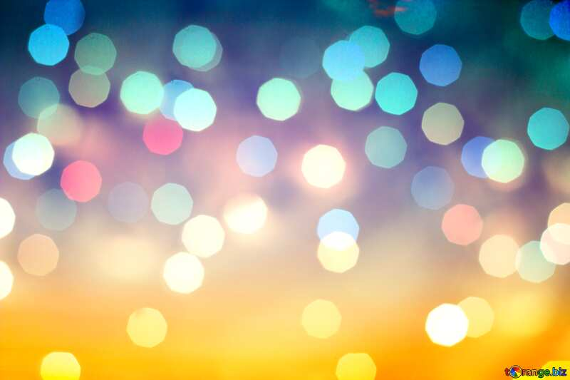 Gradient bokeh  background №16062