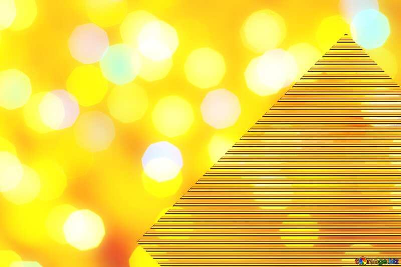 Background of bright lights Gold lines template frame art design №24618