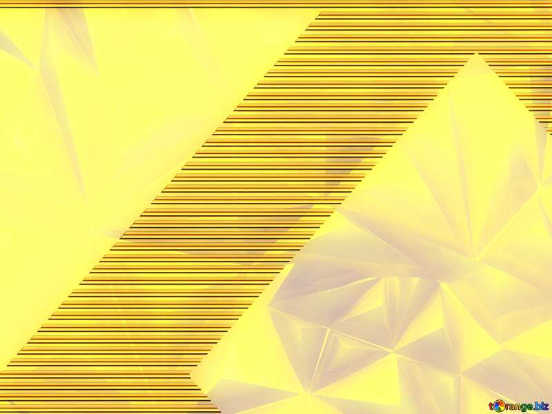 Polygon gold background Gold lines template frame №51586