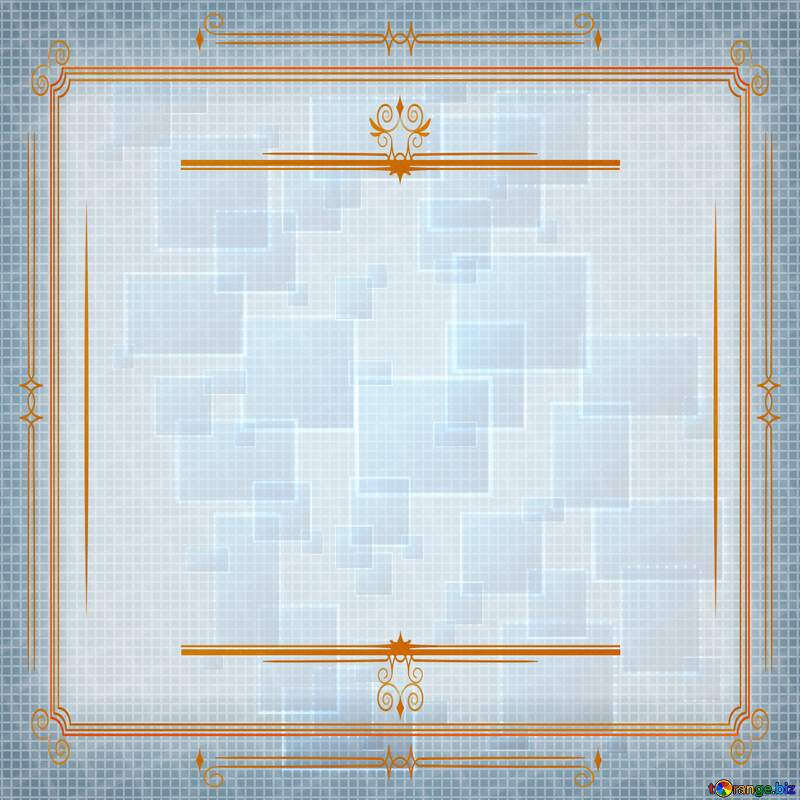 Technology background abstract squares Vintage frame retro clip art №49678