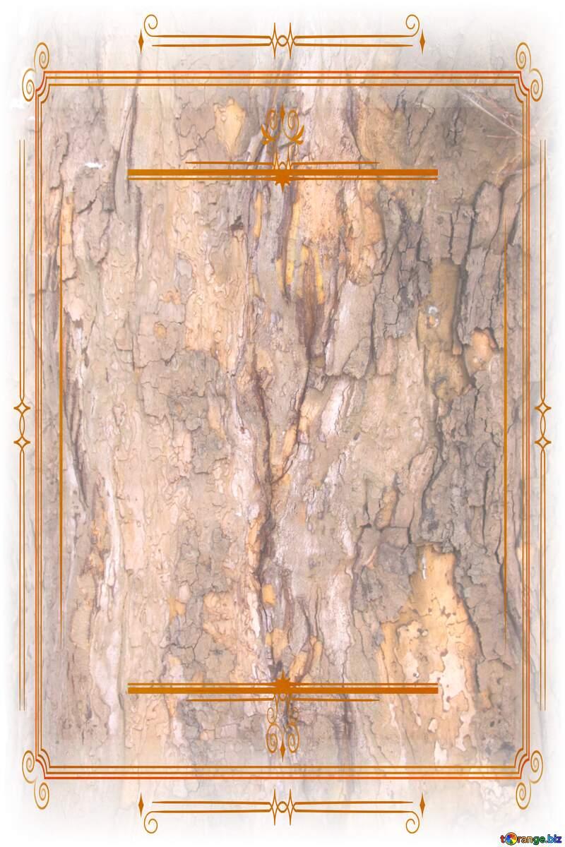 wood texture brick   Vintage frame retro clipart paper №7567
