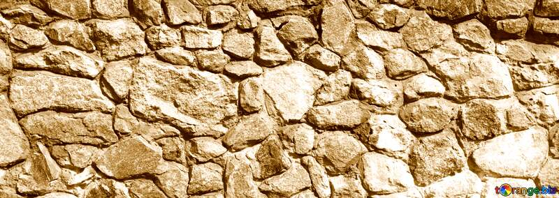 Texture.Stone wall. sepia №12748