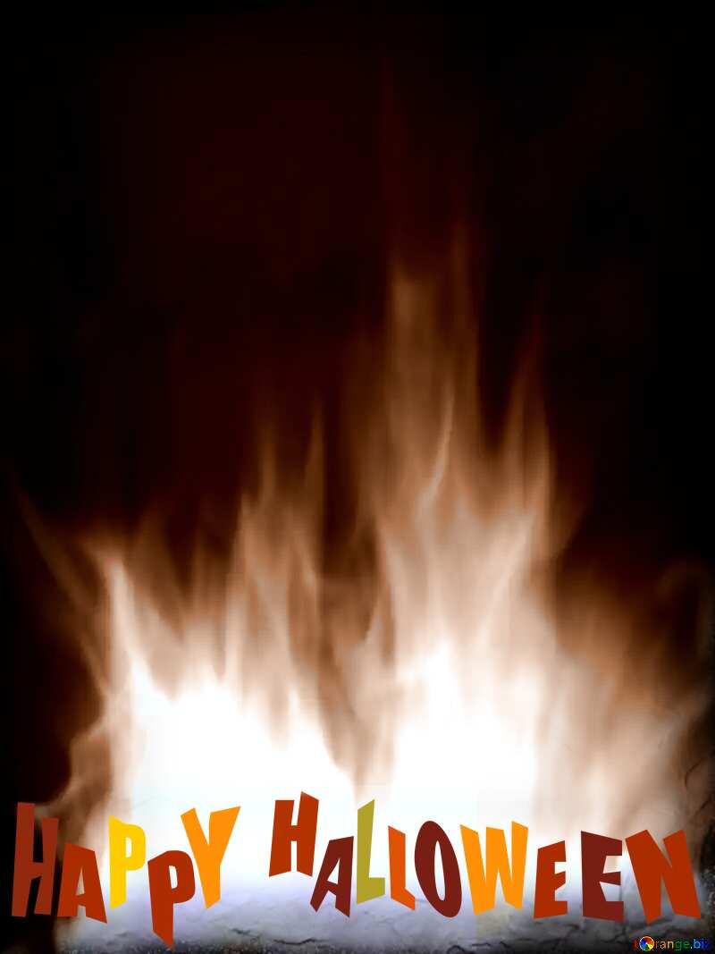 halloween sepia Fire №9546